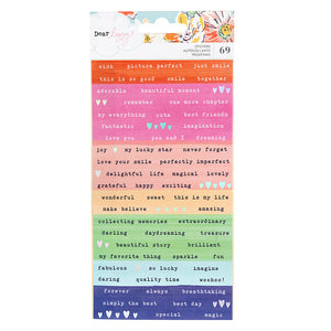 She's Magic Wordstrip Stickers