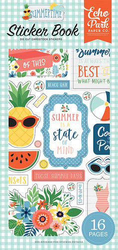Summertime Sticker Book