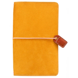 Mustard Suede Traveler's Notebook