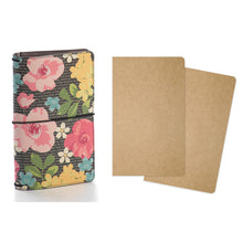 Load image into Gallery viewer, Typewriter Floral Traveler's Notebook Bundle