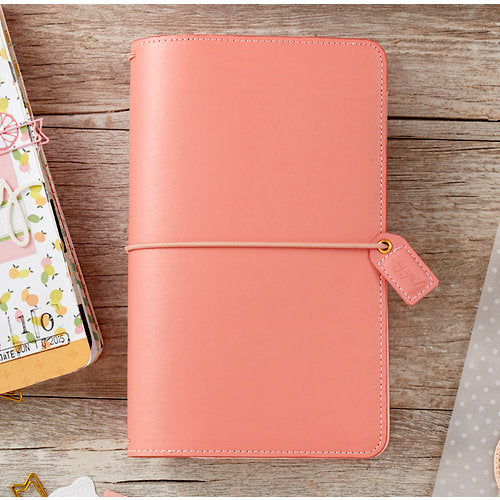 Pretty Pink Traveler's Notebook