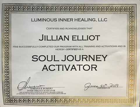 Jillian Elliot - Soul Journey Activator