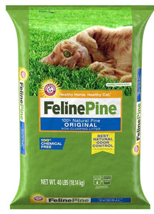 Feline Pine Original Natural Pine Cat Litter