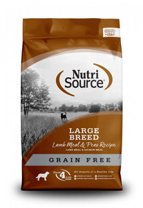 NutriSource Grain Free Large Breed Lamb Dry Dog Food