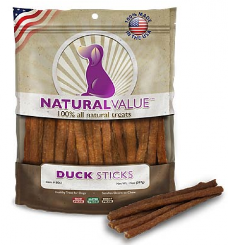 Loving Pets Natural Value Duck Sticks Dog Treats
