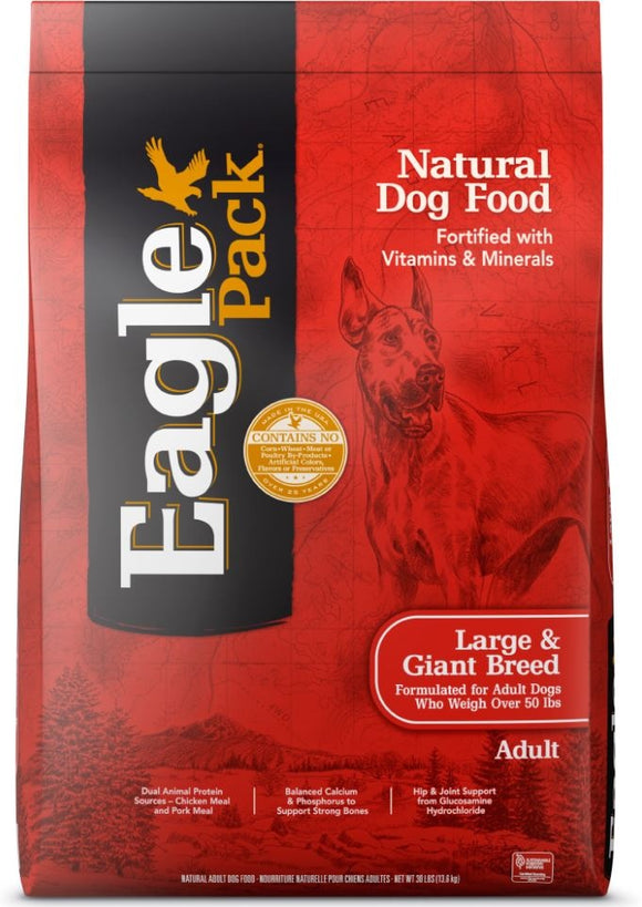 Eagle Pack Natural Large Breed Health Formula Dry Dog Food