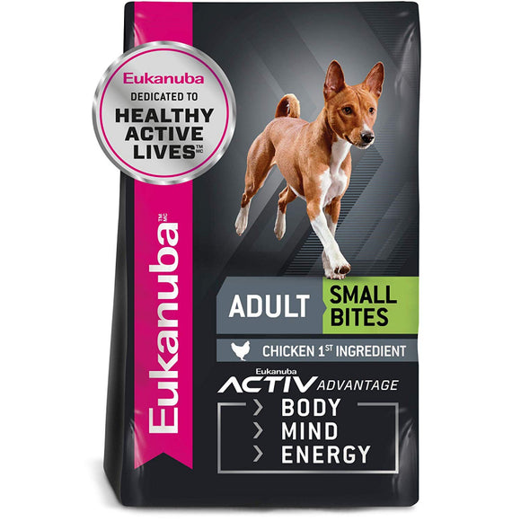 Eukanuba Adult Maintenance Small Bite Chicken Formula Dry Dog Food