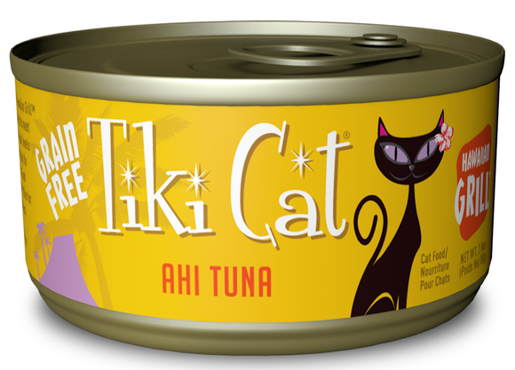 Tiki Cat Hawaiian Grill Grain Free Ahi Tuna Canned Cat Food