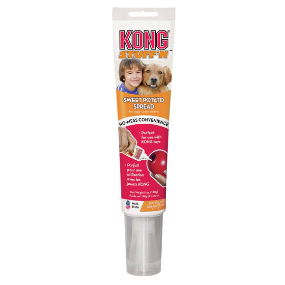 KONG Stuff'N Sweet Potato Spread Dog Treat Tube