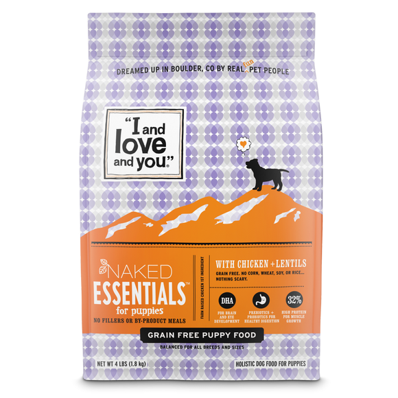 I and Love and You Naked Essentials Grain Free Puppy Recipe Dry Dog Food