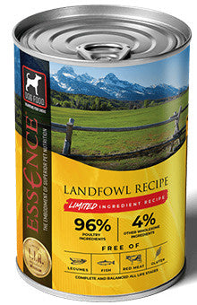 Essence Limited Ingredient Landfowl Recipe Canned Dog Food