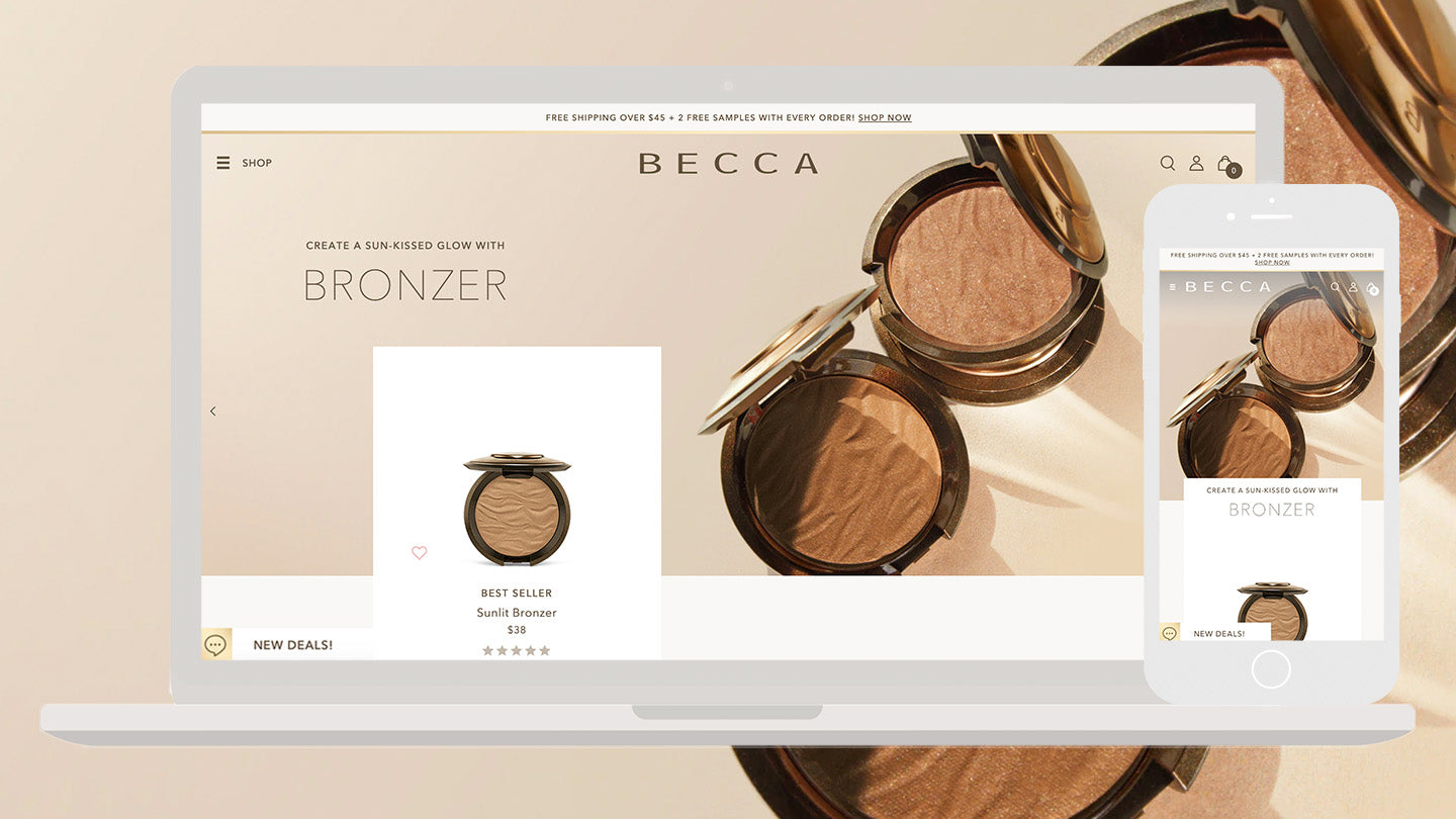 he Science Project brought to life the heart and soul of BECCA Cosmetics with a digital flagship designed to embrace community and captivate today's modern customers. BECCA Cosmetics with a digital flagship designed to embrace community and captivate today's modern customers.
