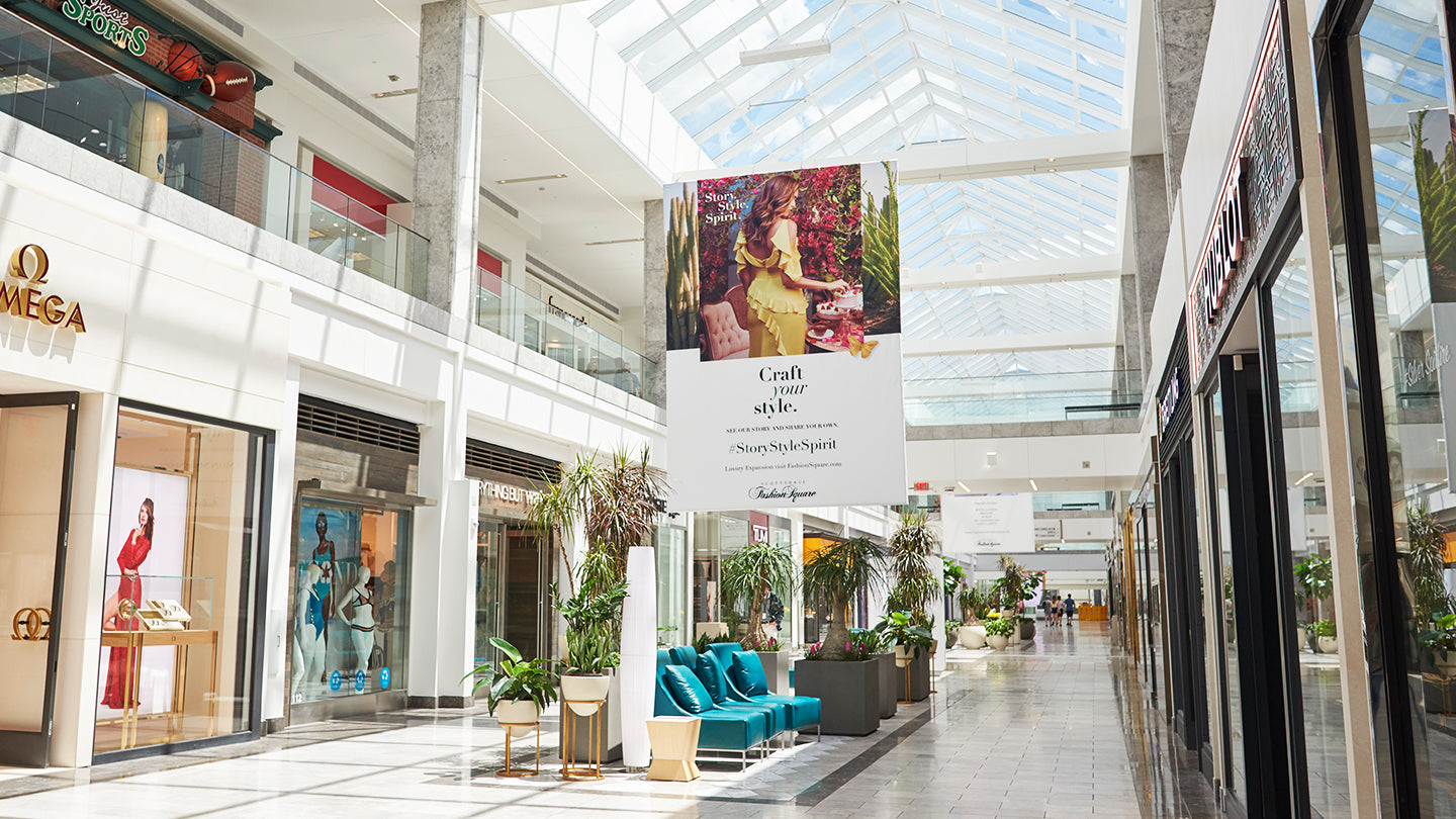 Refreshing a Mall Brand & Creating the new Luxe Village Square