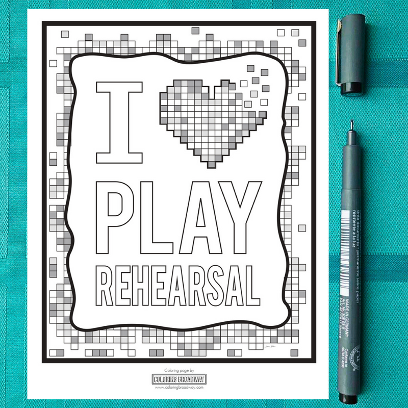 Mindfulness Activity: I Love Play Rehearsal