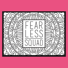 Mindfulness Activity: #FearlessSquad