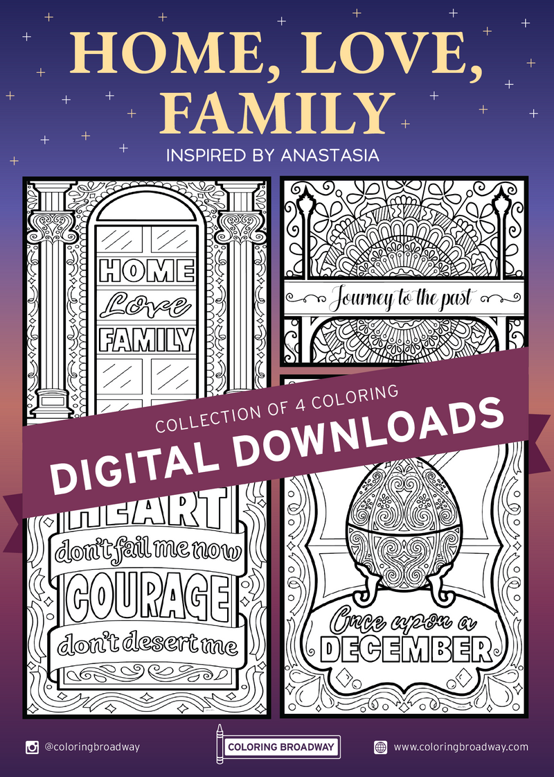 "Anastasia ""Home, Love, Family"" Collection - DIGITAL DOWNLOAD"