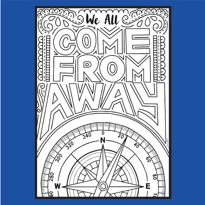"Come From Away - ""Me In The Sky"" - Coloring Pages"