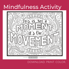 Mindful Coloring Activities