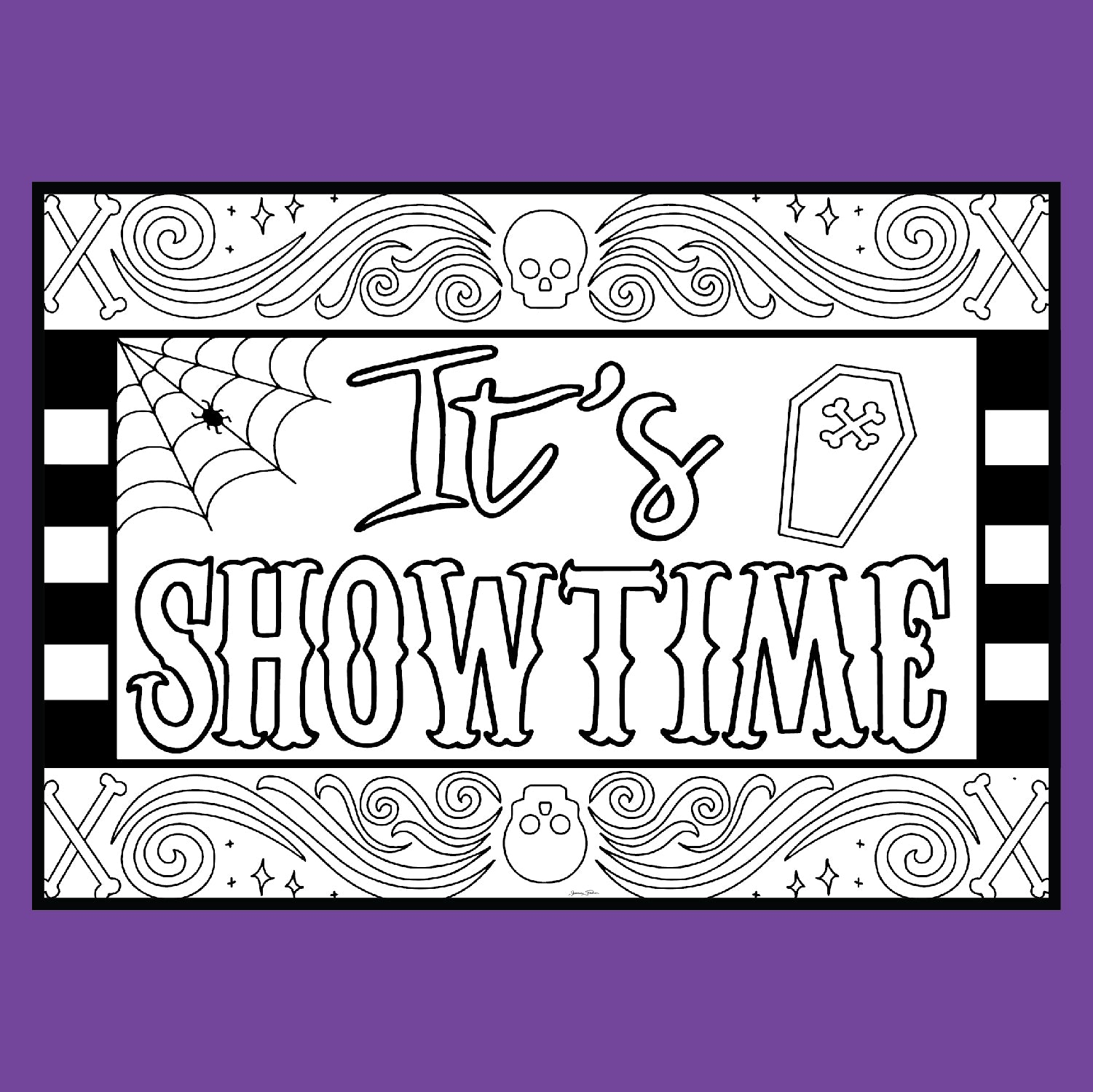 Beetlejuice It S Showtime Coloring Pages Coloring Broadway