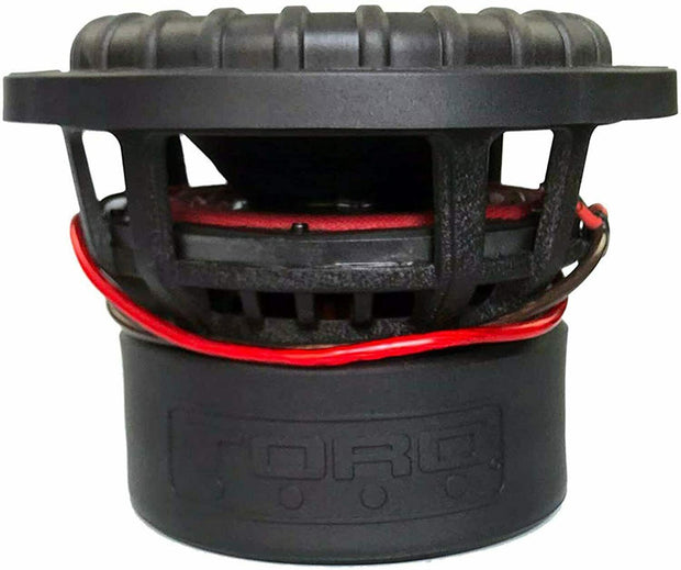 "FORCE 8 | 8 Inch 800 Watts RMS / 1600w MAX - Dual 4 Ohm 2.5"" V.C. Car Subwoofer"