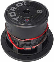 FIERCE 8 | 8 Inch 400 Watts RMS / 800w MAX - Dual 4 Ohm Car Subwoofer