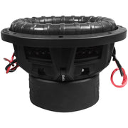 "FIERCE 10 | 10 Inch 800 Watts RMS / 1600w MAX - Dual 4 Ohm 2.5"" V.C. Car Subwoofer"