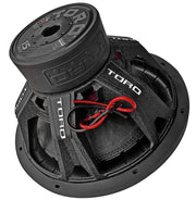 "FIERCE 15 | 15 Inch 800 Watts RMS / 1600w MAX - Dual 4 Ohm 2.5"" V.C. Car Subwoofer"