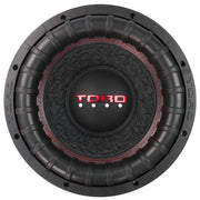"FIERCE 12 | 12 Inch 800 Watts RMS / 1600w MAX - Dual 4 Ohm 2.5"" V.C. Car Subwoofer"
