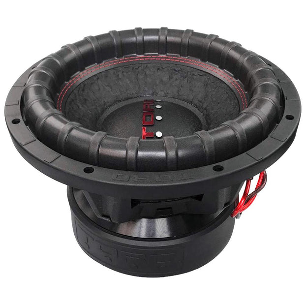 "FIERCE 12S | 12 Inch 1000 Watts RMS / 2000w MAX - Dual 4 Ohm 3"" V.C. Car Subwoofer"