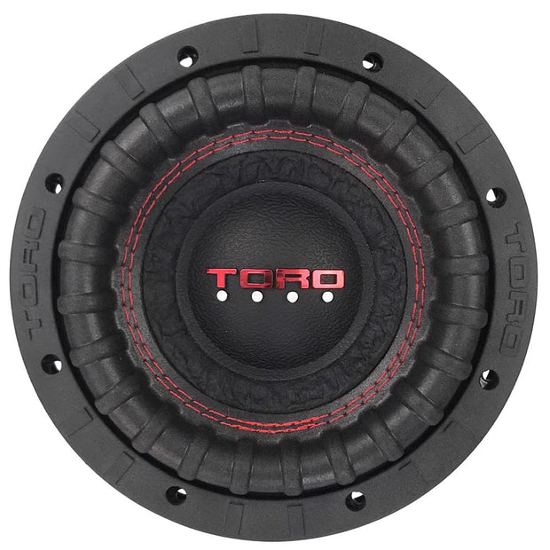 FIERCE 6 | 6.5 Inch 200 Watts RMS / 400w MAX - Dual 4 Ohm Car Subwoofer