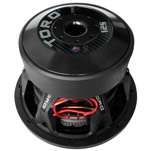 "FORCE 12S | 12 Inch 2000 Watts RMS / 4000w MAX - Dual 2 Ohm 3"" V.C. Car Subwoofer"