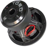 "FORCE 12 | 12 Inch 1500 Watts RMS / 3000w MAX - Dual 4 Ohm 3"" V.C. Car Subwoofer"