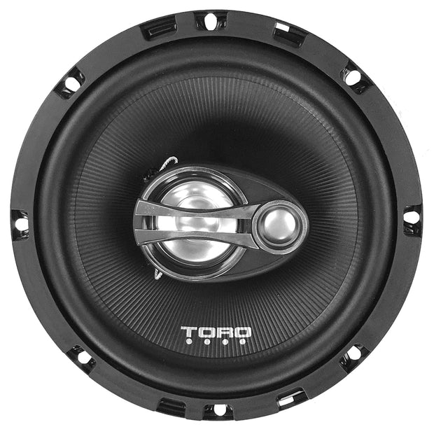 "Two Pair of F6 - 6.5"" Coaxial Speakers + RX4S Amplifier 