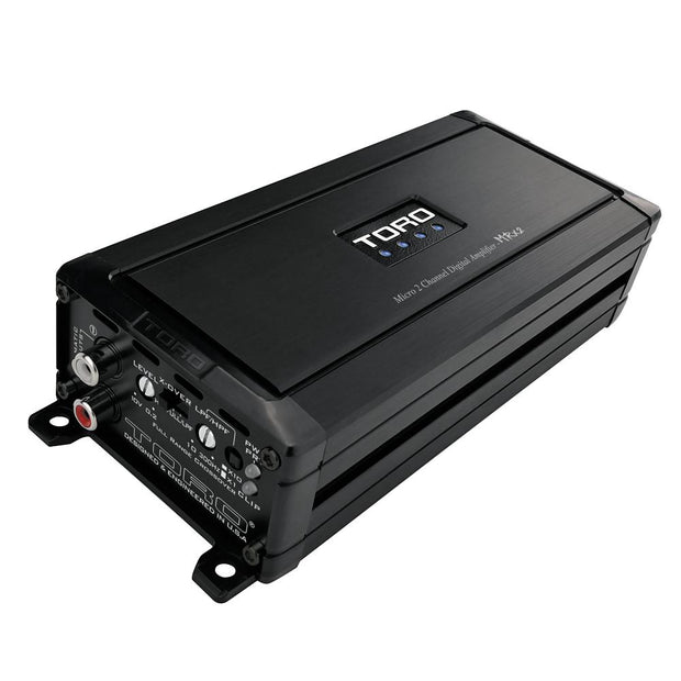 MRx2 | 110 Watts x 2 RMS @ 4Ω / 150 Watts x 2 RMS @ 2 Ohm Micro Sized Multi-Channel Car Amplifier