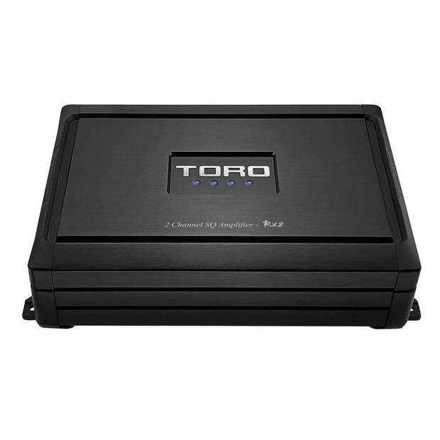 RX2 | 65 Watts x 2 RMS @ 4Ω ~ 2 Channel SQ Car Amplifier