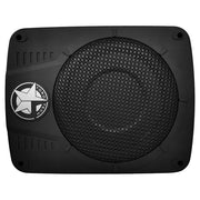 SLIM10 | 300 Watt RMS Compact Powered Active Low Profile Under-Seat Car Subwoofer