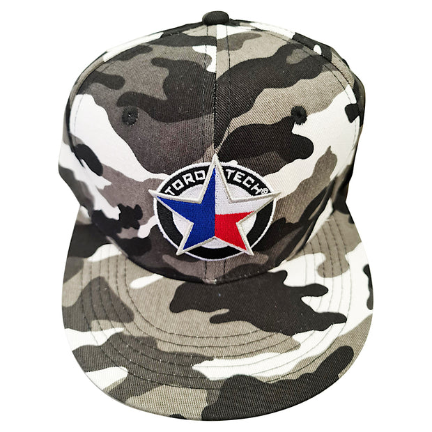 TORO TECH Flat Bill Camo Hat