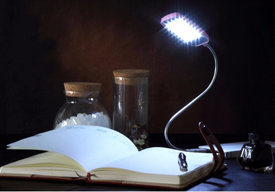 Meet your perfect reading partner, book lights
