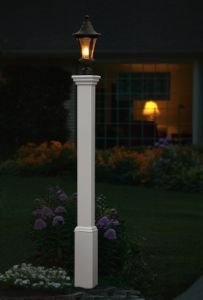 "Madison 5""x5"" Vinyl Lamp Post"