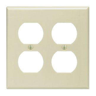 4 Outlet Wall Plate - llightsdaddy - Leviton - Wall Plates