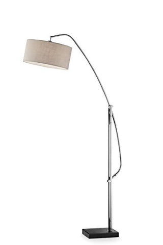 "OK Lighting OK-9746SR Avant Arch-Floor Lamp, 58"" x 17"" x 78.5"" - llightsdaddy - OK Lighting - Lamp Shades"