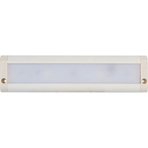 "morris products led dimmable under cabinet light - 24"" dual hardwire, plug-in, 4700k - white - 7 led, 11 watts, 522 lumens - energy efficient - for lighting work surfaces, kitchen counter tops"