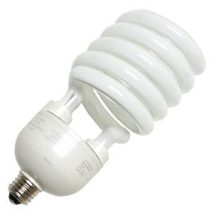 TCP 28968277 CFL Spring Lamp - 300 Watt Equivalent (only 68w used!) Soft White (2700K) Medium/Standard Base (e26) Spiral Light Bulb - 277-volt  TCP Compact Fluorescent Lamps llightsdaddy.myshopify.com lightsdaddy