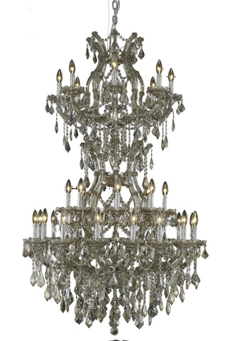 2800 Maria Theresa Collection Chandelier D:36in H:56in Lt:34 Golden Teak Finish (Royal Cut Crystals) - llightsdaddy - Elegant Lighting - Chandeliers
