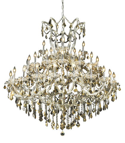 2800 Maria Theresa Collection Chandelier D:52in H:54in Lt:41 Chrome Finish (Royal Cut Crystals) - llightsdaddy - Elegant Lighting - Pendant Lights