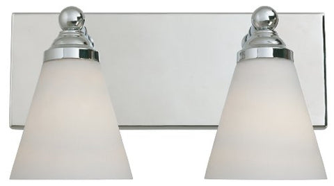 Designers Fountain 6492-CH Hudson Vanities, Chrome - llightsdaddy - Designers Fountain - Vanity Lights