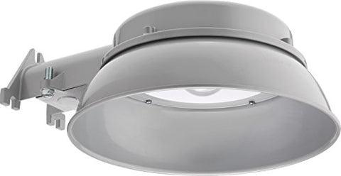 Lithonia Lighting Oval 40K 120 PE DNA M4 Dusk to Dawn Integrated Outdoor LED Area Light, 20W