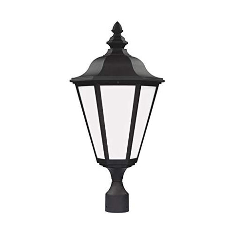 Sea Gull Lighting 1892197 89025-12 Brentwood Outdoor Post, Black