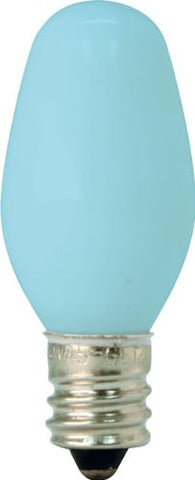 GE Lighting 26223 4-Watt Specialty C7 Incandescent Light Bulb, Blue, 2-Pack - llightsdaddy - GE Lighting - Incandescent Bulbs