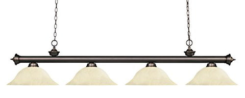 4 Light Billiard Light 200-4OB-GM16